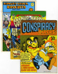 Bronze Age (1970-1979):Alternative/Underground, Underground Comix Group (Various, 1969-73).... (Total: 7 Comic Books)