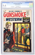 Silver Age (1956-1969):Western, Gunsmoke Western #40 Circle 8 pedigree (Marvel, 1957) CGC NM 9.4Off-white to white pages....