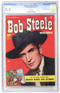 Golden Age (1938-1955):Western, Bob Steele Western #9 Mile High pedigree (Fawcett, 1952) CGC VF+ 8.5 White pages....