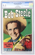 Golden Age (1938-1955):Western, Bob Steele Western #7 Mile High pedigree (Fawcett, 1951) CGC VF+ 8.5 White pages....
