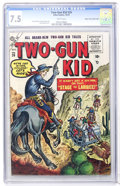 Silver Age (1956-1969):Western, Two-Gun Kid #26 Mile High pedigree (Marvel, 1955) CGC VF- 7.5 Whitepages....