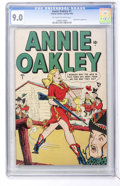 Golden Age (1938-1955):Western, Annie Oakley #1 (Timely, 1948) CGC VF/NM 9.0 Off-white to white pages....