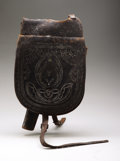 Military & Patriotic:Civil War, Pommel Saddle Bags with Provision for Percussion Revolver. ...