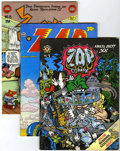 Bronze Age (1970-1979):Alternative/Underground, Zap Comix #5, 7-11 Group (Apex Novelties, 1973) Condition: FN.... (Total: 6 Comic Books)