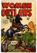 Golden Age (1938-1955):Crime, Women Outlaws #7 (Fox Features Syndicate, 1949) Condition: VG/FN....