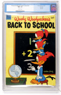 Golden Age (1938-1955):Cartoon Character, Dell Giant Comics - Woody Woodpecker's Back To School #2 File Copy(Dell, 1952) CGC NM+ 9.6 Off-white pages....