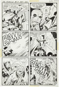 Original Comic Art:Panel Pages, Jack Kirby and Mike Royer Mister Miracle #17 Page 17Original Art (DC, 1974)....