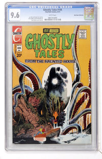Ghostly Tales #106 Don Rosa Collection pedigree (Charlton, 1973) CGC NM+ 9.6 White pages