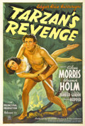 "Movie Posters:Adventure, Tarzan's Revenge (20th Century Fox, 1938). One Sheet (27"" X 41"")...."