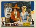 "Movie Posters:Western, Texas Bad Man (Universal, 1932). Lobby Card (11"" X 14"")...."