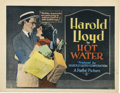 "Movie Posters:Comedy, Hot Water (Pathé, 1924). Title Card and Lobby Card (11"" X 14"")....(Total: 2 Items)"
