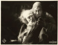 "Movie Posters:Fantasy, Faust (UFA, 1926). German Lobby Card (8.5"" X 11"")...."