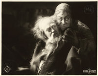 "Faust (UFA, 1926). German Lobby Card (8.5"" X 11"")"