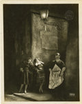 "Movie Posters:Drama, The Joyless Street (Sofar Film, 1925). German Lobby Card (9.5"" X12"")...."