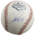 Autographs:Baseballs, Alex Rodriguez Single Signed 2004 Opening Day Baseball. Arguablythe best player in modern baseball, Alex Rodriguez has adde...