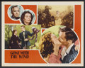 "Movie Posters:Academy Award Winner, Gone with the Wind (MGM, R-1947). Lobby Card (11"" X 14""). AcademyAward Winner...."
