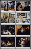 "Movie Posters:Crime, Bugsy (Columbia/Tristar, 1991). Lobby Cards (8) (11"" X 14""). Crime.... (Total: 8 Items)"