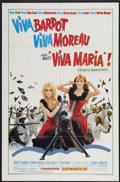 "Movie Posters:Adventure, Viva Maria! (United Artists, 1966). One Sheet (27"" X 41"") and LobbyCards (2) (11"" X 14""). Adventure.... (Total: 3 Items)"