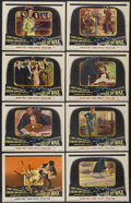 """Movie Posters:Horror, House of Wax (Warner Brothers, 1953). Lobby Card Set of 8 (11"""" X 14""""). Horror.... (Total: 8 Items)"""