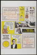 "Movie Posters:Sexploitation, Goldilocks and the Three Bares (Dore Productions, 1963). One Sheet(27"" X 41""). Sexploitation...."