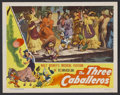 "Movie Posters:Animated, The Three Caballeros (RKO, 1944). Lobby Card (11"" X 14"").Animated...."