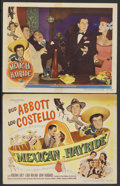 "Movie Posters:Comedy, Mexican Hayride (Universal International, 1948). Title Lobby Card and Lobby Card (11"" X 14""). Comedy.... (Total: 2 Items)"