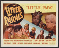 """Movie Posters:Comedy, Little Rascals (Monogram, R-1950s). Title Lobby Card (11"""" X 14"""") """"Little Papa"""". Comedy...."""