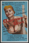 """Movie Posters:Drama, Career Girl (Astor Pictures, 1960). One Sheet (27"""" X 41""""). Drama...."""