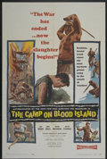 "Movie Posters:War, The Camp on Blood Island (Columbia, 1958). One Sheet (27"" X 41"").War...."