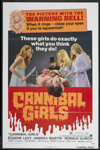 "Cannibal Girls (American International, 1973). One Sheet (27"" X 41""). Horror Comedy"