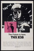 "Movie Posters:Science Fiction, THX 1138 (Warner Brothers, 1970). One Sheet (27"" X 41""). ScienceFiction...."