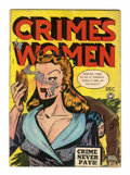 Golden Age (1938-1955):Crime, Crimes by Women #4 (Fox Features Syndicate, 1948) Condition:VG+....