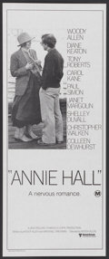 "Movie Posters:Academy Award Winner, Annie Hall (United Artists, 1977). Australian Daybill (12"" X 30""). Academy Award Winner...."