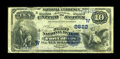 National Bank Notes:Colorado, Fort Collins, CO - $10 1882 Value Back Fr. 577 The First NB Ch. #(W)2622. ...