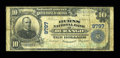 National Bank Notes:Colorado, Durango, CO - $10 1902 Plain Back Fr. 627 The Burns NB Ch. # 9797....