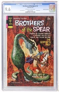 Brothers of the Spear #6 Don Rosa Collection pedigree (Gold Key, 1973) CGC NM+ 9.6 Off-white to white pages