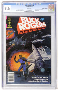 Buck Rogers #4 Don Rosa Collection pedigree (Gold Key, 1979) CGC NM+ 9.6 White pages