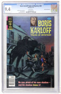 Bronze Age (1970-1979):Horror, Boris Karloff Tales of Mystery #89 Don Rosa Collection pedigree(Gold Key, 1979) CGC NM 9.4 White pages....