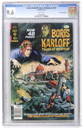 Bronze Age (1970-1979):Horror, Boris Karloff Tales of Mystery #84 Don Rosa Collection pedigree(Gold Key, 1978) CGC NM+ 9.6 White pages....