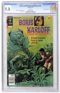 Bronze Age (1970-1979):Horror, Boris Karloff Tales of Mystery #76 Don Rosa Collection pedigree(Gold Key, 1977) CGC NM/MT 9.8 White pages....