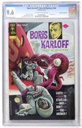 Bronze Age (1970-1979):Horror, Boris Karloff Tales of Mystery #56 Don Rosa Collection pedigree(Gold Key, 1974) CGC NM+ 9.6 Off-white to white pages....