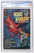 Bronze Age (1970-1979):Horror, Boris Karloff Tales of Mystery #34 Don Rosa Collection pedigree(Gold Key, 1971) CGC NM+ 9.6 Off-white to white pages....