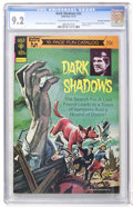 Bronze Age (1970-1979):Horror, Dark Shadows #23 Don Rosa Collection pedigree (Gold Key, 1973) CGCNM- 9.2 Off-white to white pages....