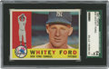 Baseball Cards:Singles (1960-1969), 1960 Topps Whitey Ford #35 SGC 84 NM 7. Ace of the mighty BronxBombers and more than a worthy Hall of Fame inductee, White...