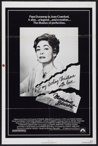 """Mommie Dearest (Paramount, 1981). One Sheet (27"""" X 41""""). Cult Classic"""