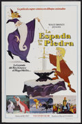 "Movie Posters:Animated, The Sword in the Stone (Buena Vista, 1963). Spanish Language OneSheet (27"" X 41""). Animated...."