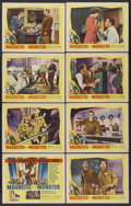 """Movie Posters:Science Fiction, The Magnetic Monster (United Artists, 1953). Lobby Card Set of 8 (11"""" X 14""""). Science Fiction.... (Total: 8 Items)"""