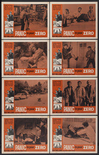 """Panic in Year Zero (American International, 1962). Lobby Card Set of 8 (11"""" X 14""""). Science Fiction.... (Total..."""