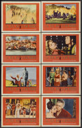 "Movie Posters:Historical Drama, Sodom and Gomorrah (20th Century Fox, 1963). Lobby Card Set of 8(11"" X 14""). Historical Drama.... (Total: 8 Items)"