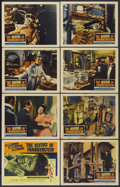"Movie Posters:Horror, The Revenge of Frankenstein (Columbia, 1958). Lobby Card Set of 8 (11"" X 14""). Horror.... (Total: 8 Items)"